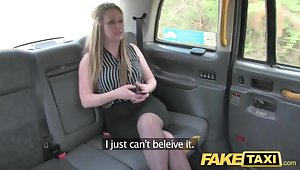Fake Taxi Cougar wants deep hard big cock