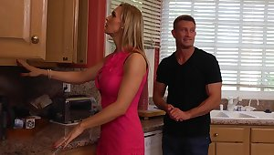 Tanya Tate gets fucked hard by her son's friend