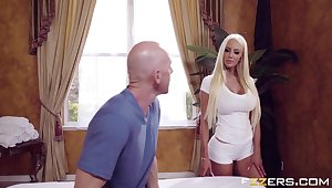 Nicolette Shea In Massage Mirage