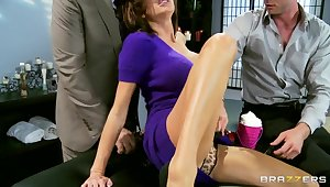 Veronica Avluv first years double penetration