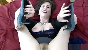 Mom's High-Heeled Shoes - Mrs Skip taboo mom pov shoe charm