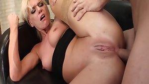Best pornstar Anna Lena in exotic cumshots, facial porn clip