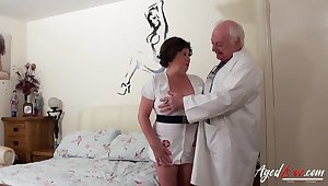 Old nurse cums to life just about an old perverted doctor