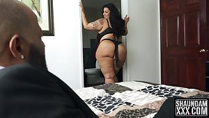 Latina BBW Sofia Rose Hard Black Sex