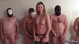 CumPerfection - Cindy Full view Bucket Rules Bukkake
