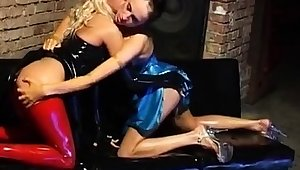 Latex Lucy in the matter of dastardly latex outfi