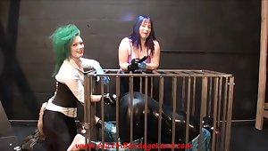 Rubber Kitty Bruise Shagging - Femdom Porn