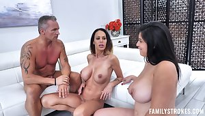 Serious inches be required of dick for two busty chicks with insane dream for hardcore