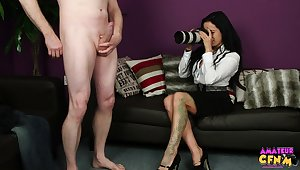 Amateur video of a dude obtaining his gumshoe sucked by Sasha Rose