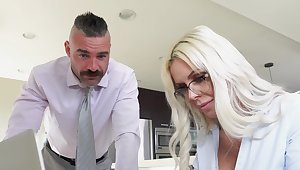 Appealing MILF thinks roughly a catch man's cock with the addition of wants to fuck