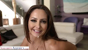 Big butt MILF Ava Addams gets fucked wits her best friend's soft-pedal