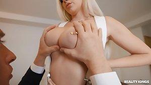Hardcore fucking in the judiciary forth pierced nipples Kendra Sunderland