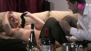 Hot glamour MILFs crazy porn video